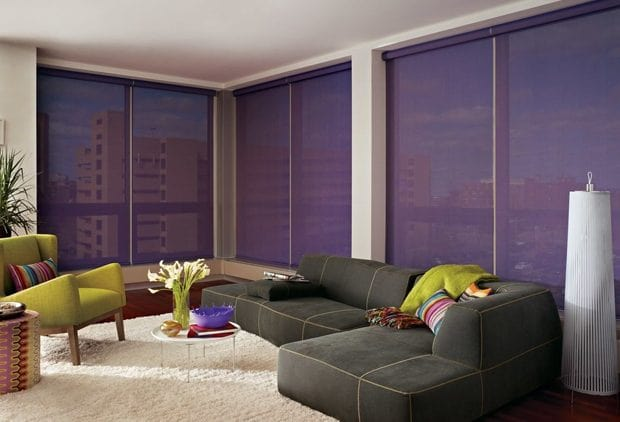 Modern trends for windows by Allure Window Coverings.