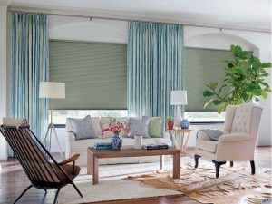 Perfectly designed draperies and window coverings by Allure.