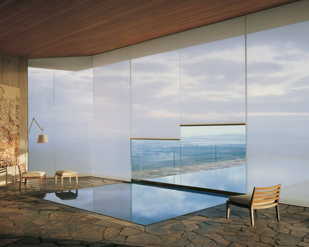 Duette blinds to maximize your view and control light