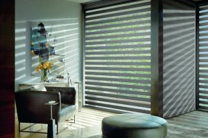 Designer banded shades. Match any color and any size.