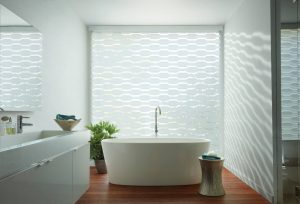 Custom banded shades for a modern & elegant look.