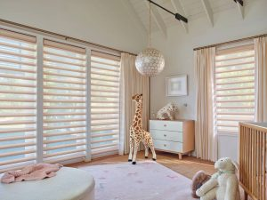 Look amazing and control light at the same time with pirouette blinds.